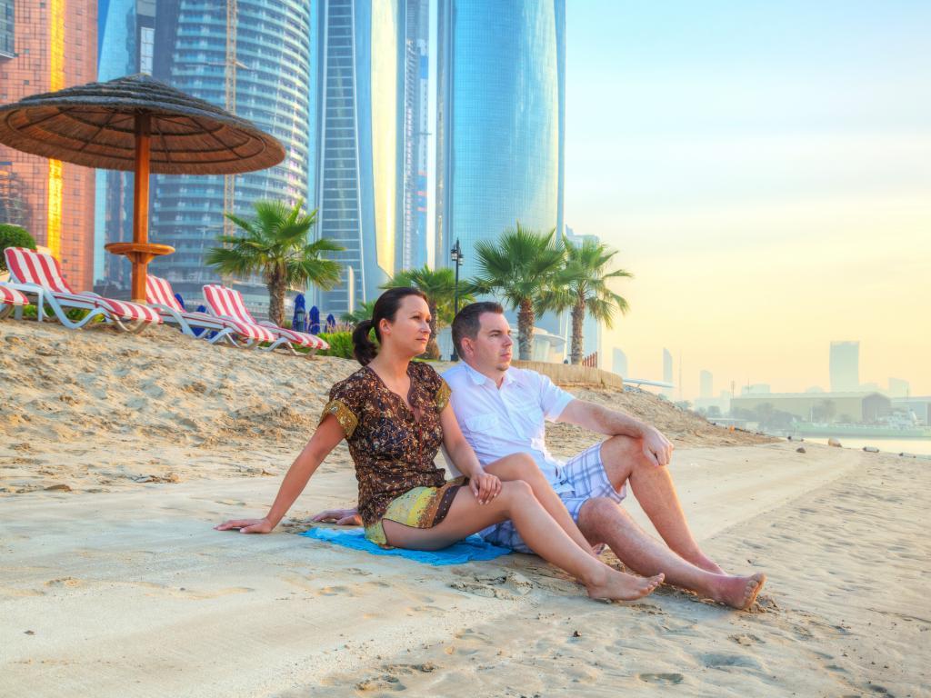 Abu Dhabi Einwohner
