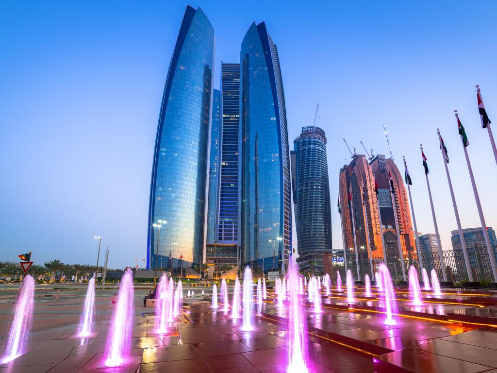 Abu Dhabi Etihad Towers