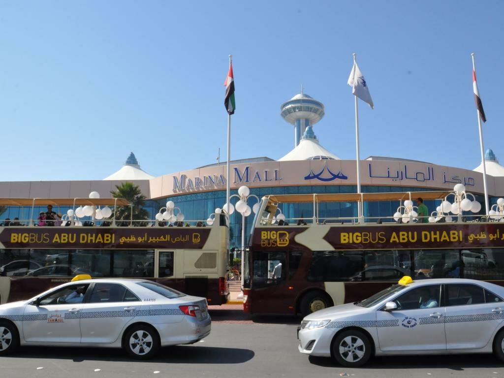 Abu Dhabi Hop On Hop Off Busse