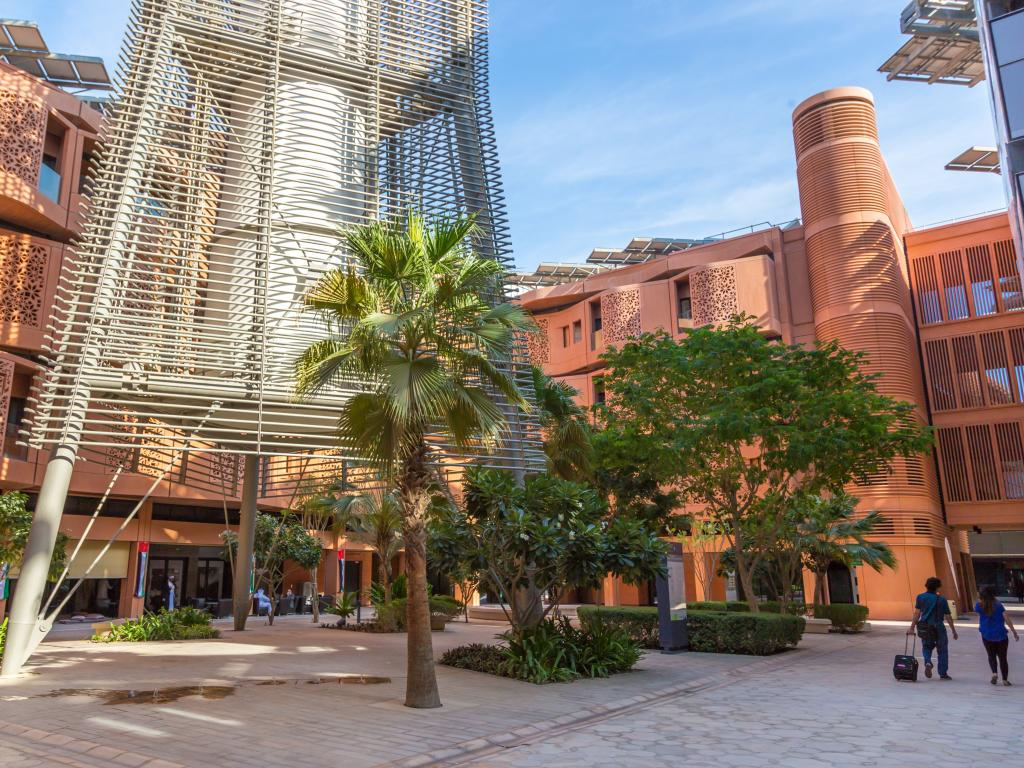 Abu Dhabi Ökostadt