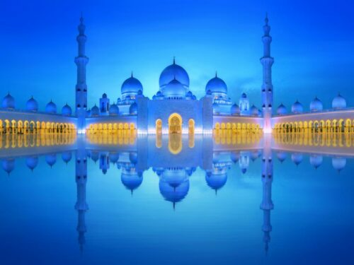 Abu Dhabi Sheikh Zayed Moschee