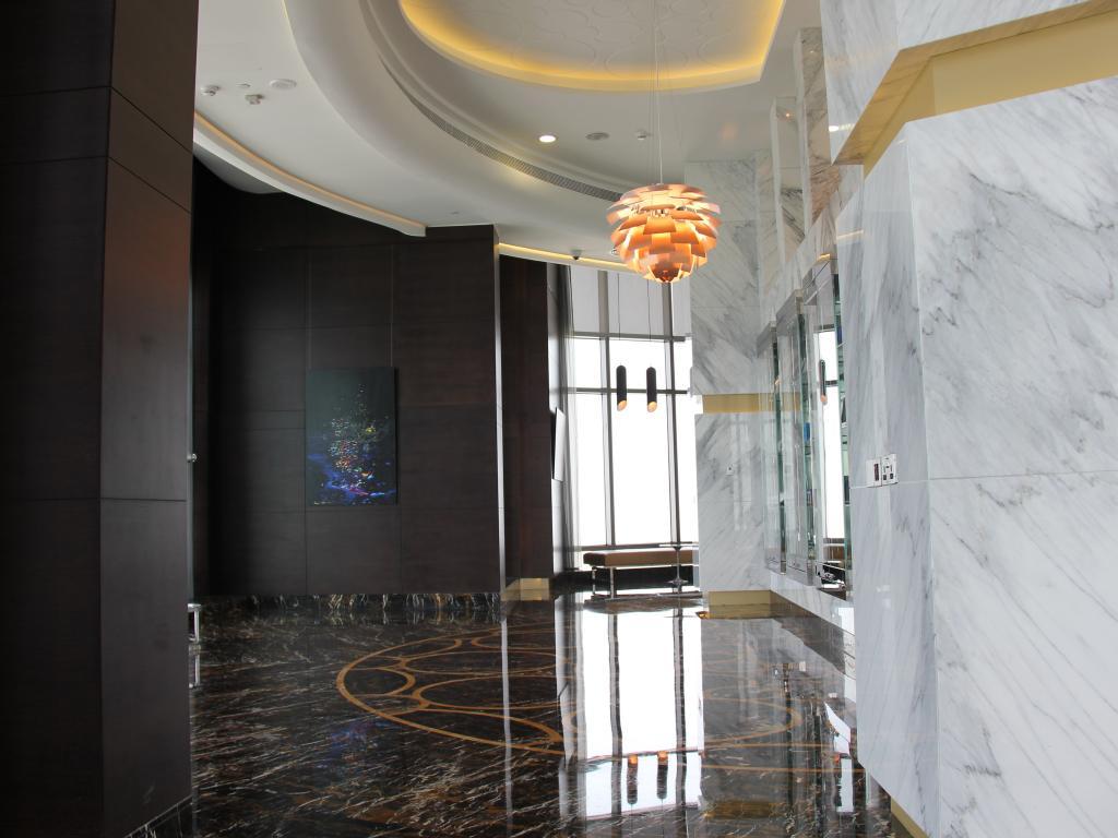 Aussichtsplattform in Abu Dhabi