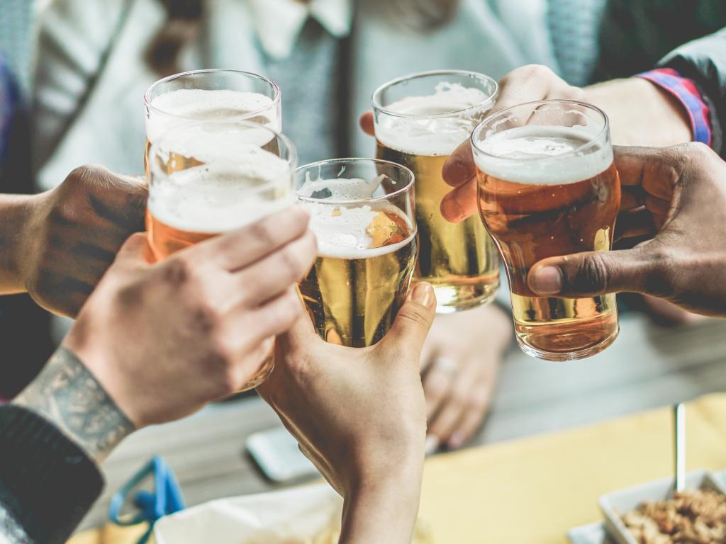 Alkohol trinken in Abu Dhabi