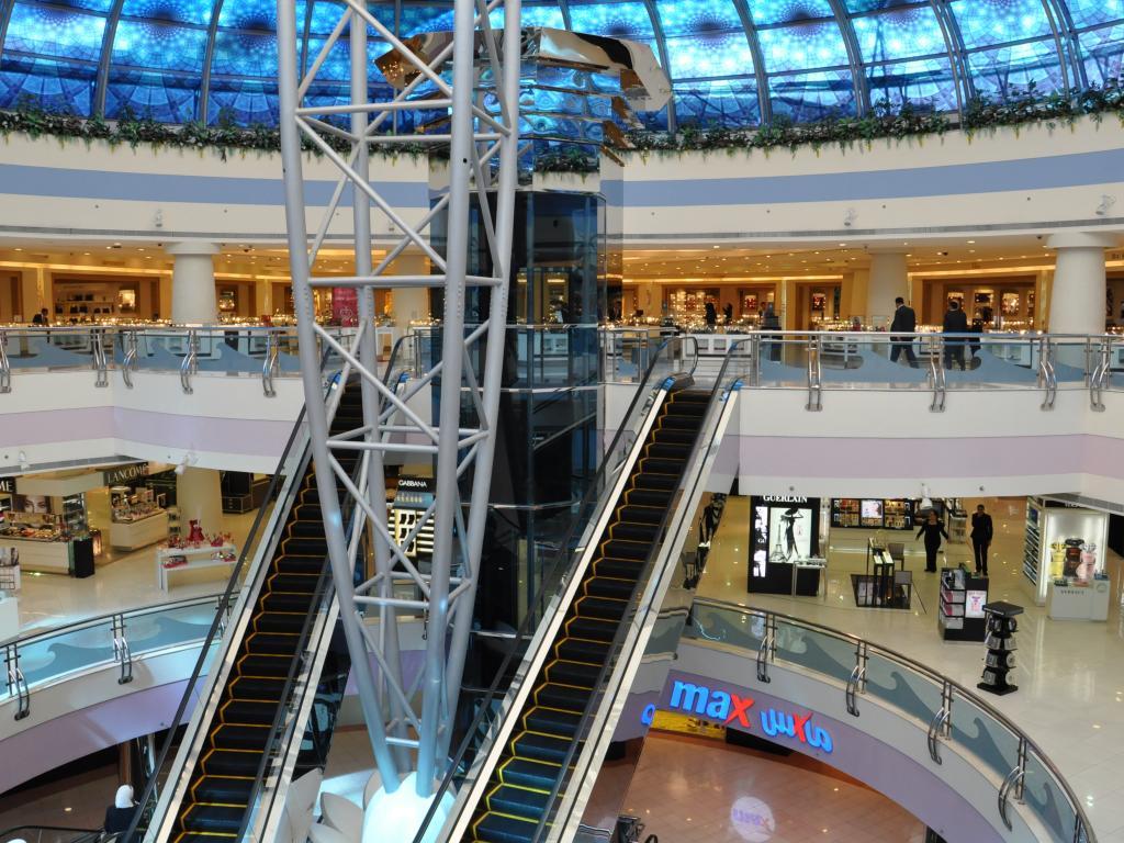 Die Marina Mall in Abu Dhabi