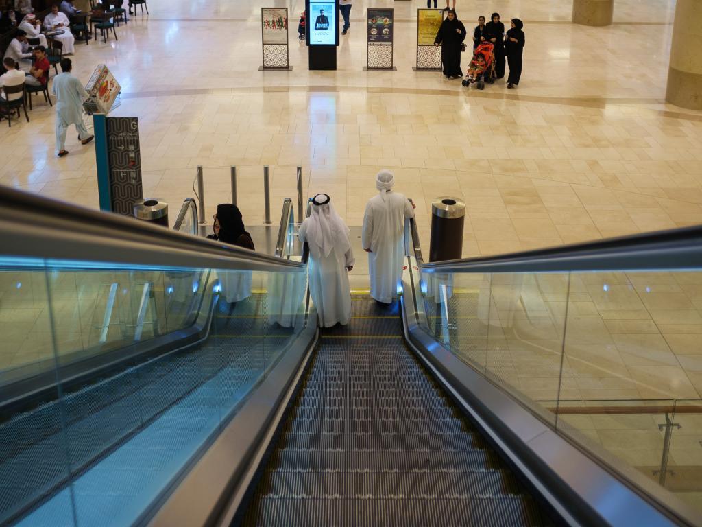 Einkaufszentrum Abu Dhabi Mall