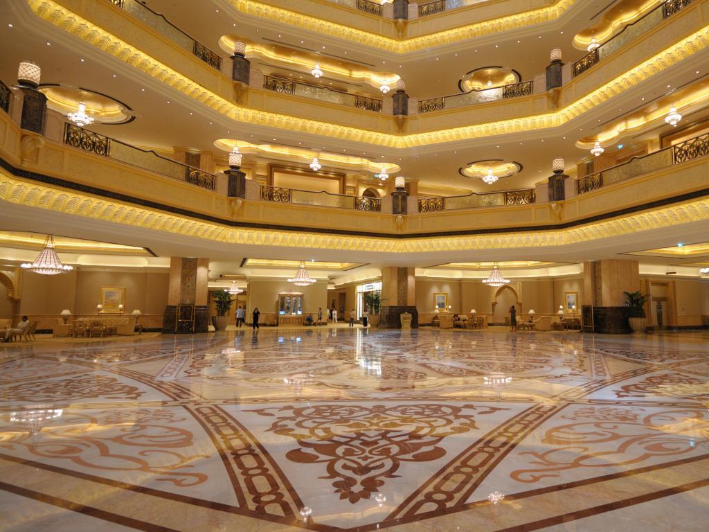 Lobby vom Emirates Palace