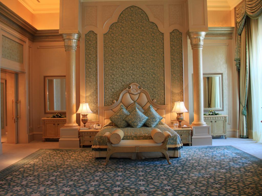 Eine Suite im Emirates Palace