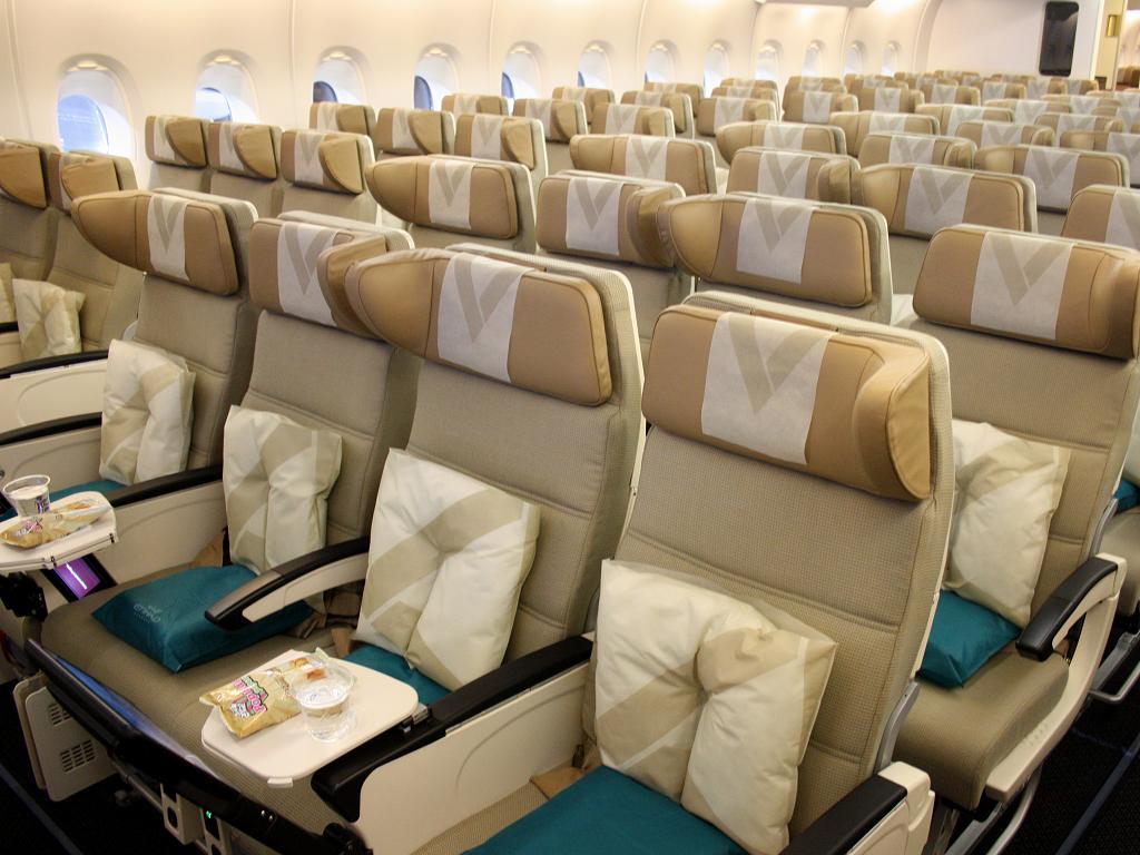Etihad Airways Economy Class