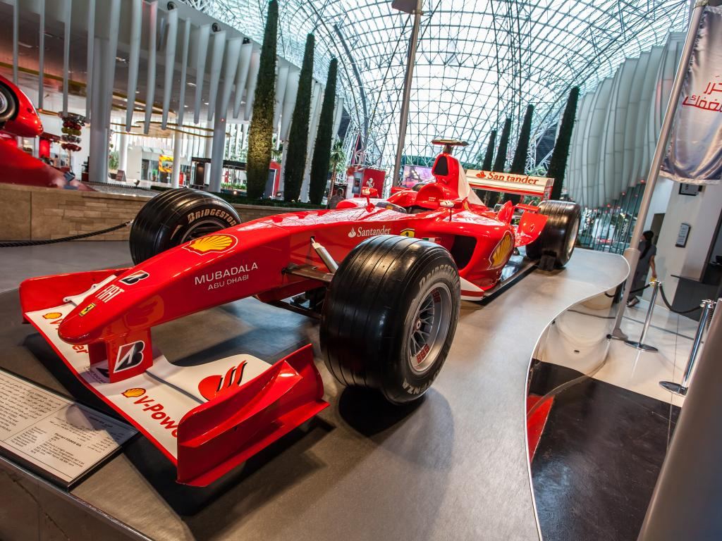 Ferrari Formel 1 Rennwagen