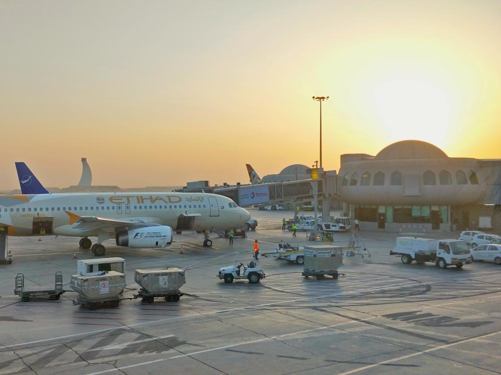 Flughafen Abu Dhabi