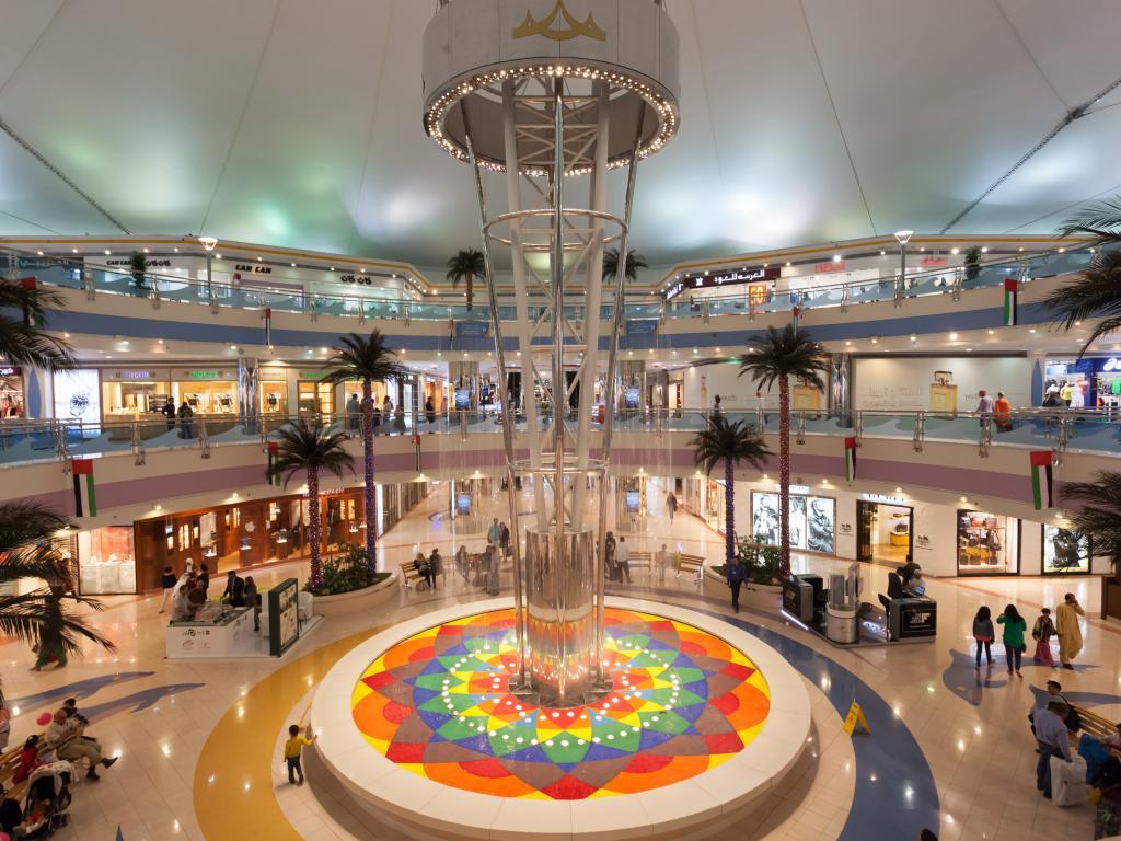 Geschäfte in der Marina Mall