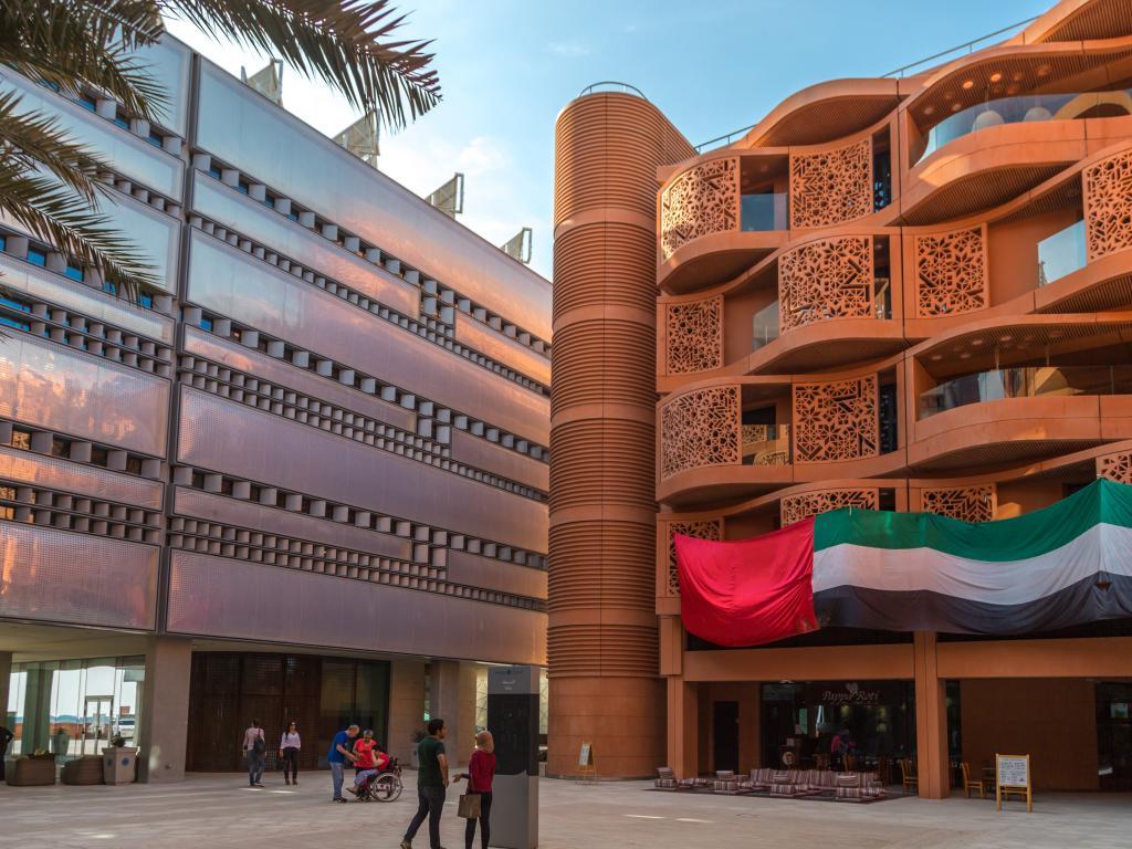 Die Masdar City in Abu Dhabi