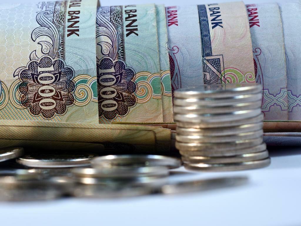 Münzen und Geldscheine VAE Dirham