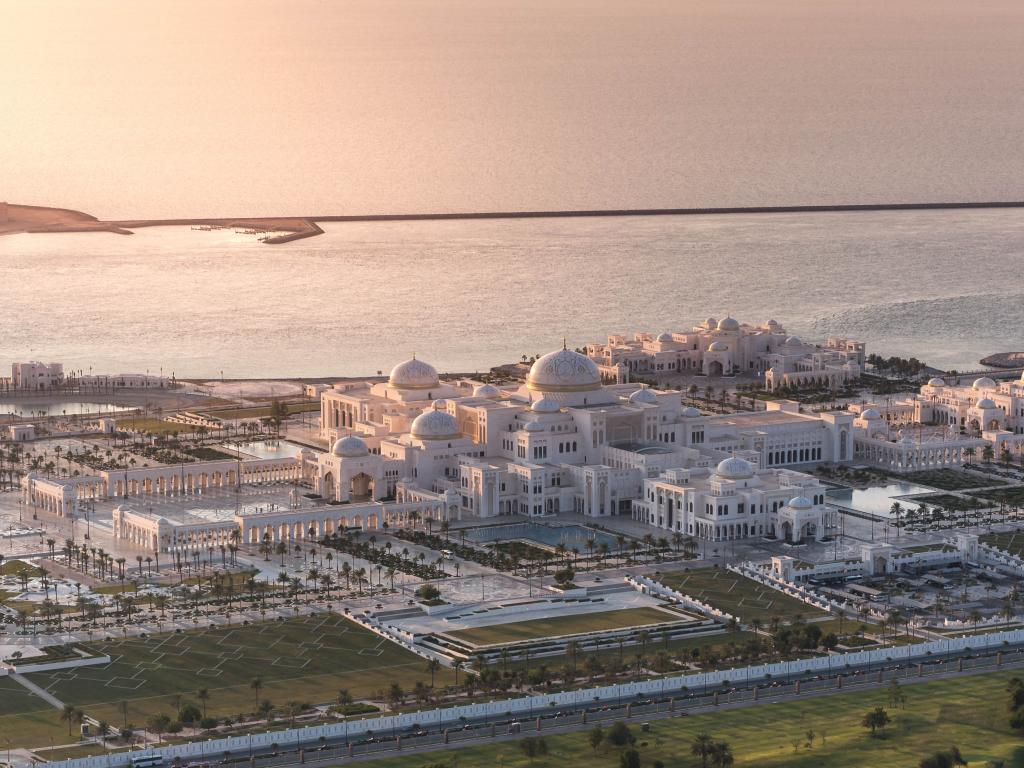 Panorama von Qasr Al Watan