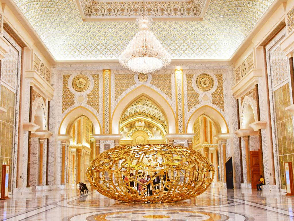 Qasr Al Watan in Abu Dhabi