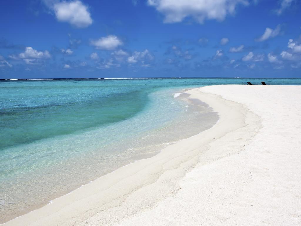 Der Strand auf Saadiyat Island