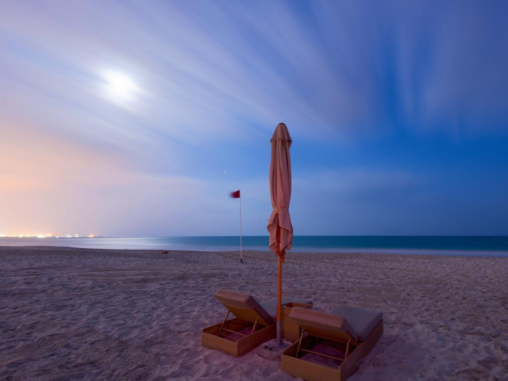 Der Strand Saadiyat Public Beach
