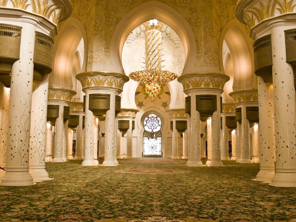 Sheikh Zayed Moschee Kronleuchter