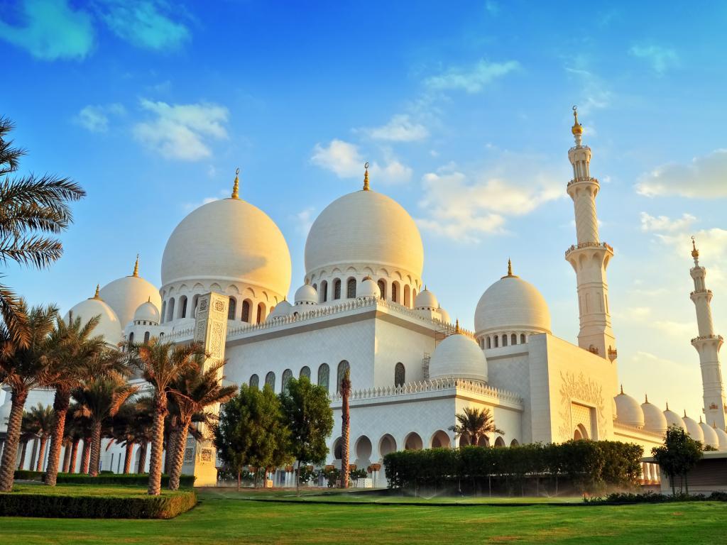 Sheikh Zayed Moschee Kuppeln