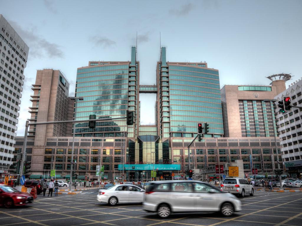 Shopping Center Abu Dhabi Mall