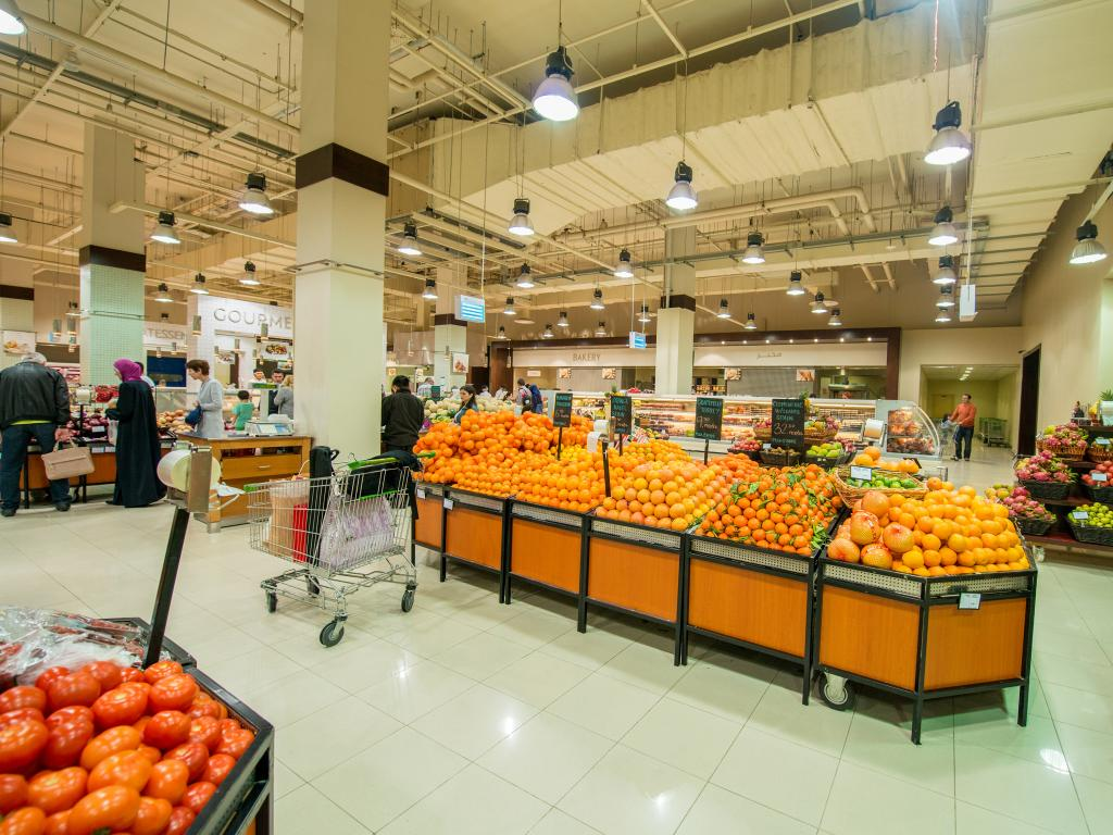 Supermarkt in den VAE