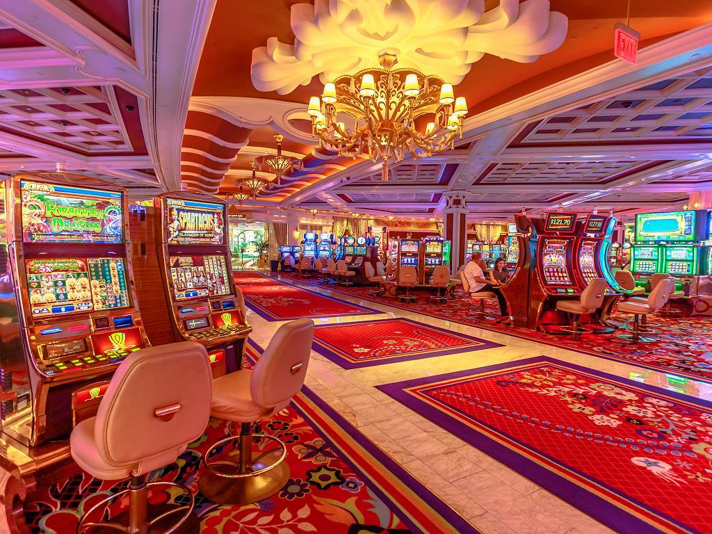 Das Kasino im Wynn