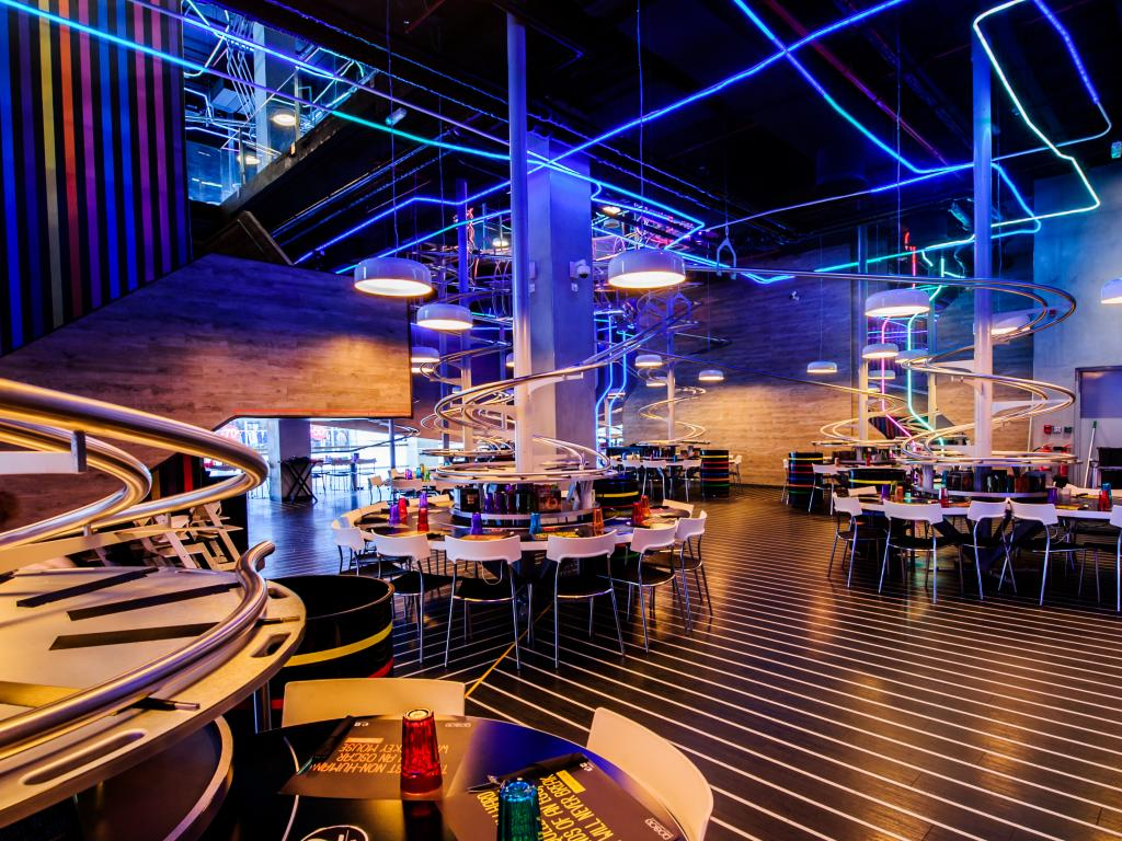 Yas Mall Rollercoaster Restaurant
