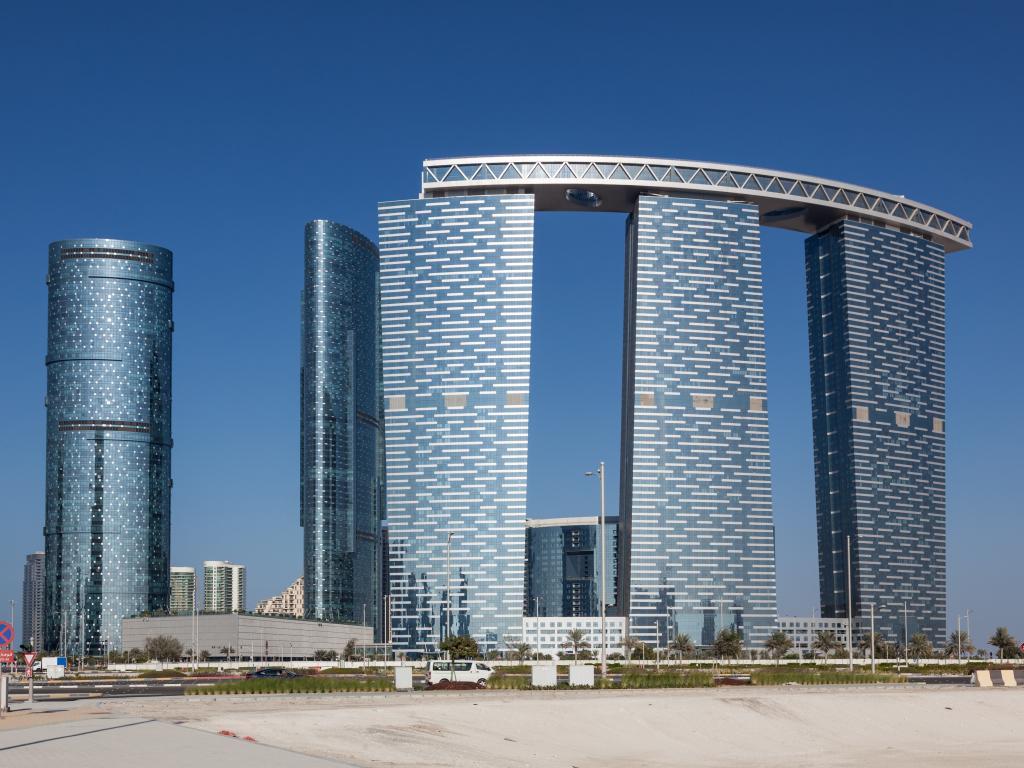 Abu Dhabi Wolkenkratzer