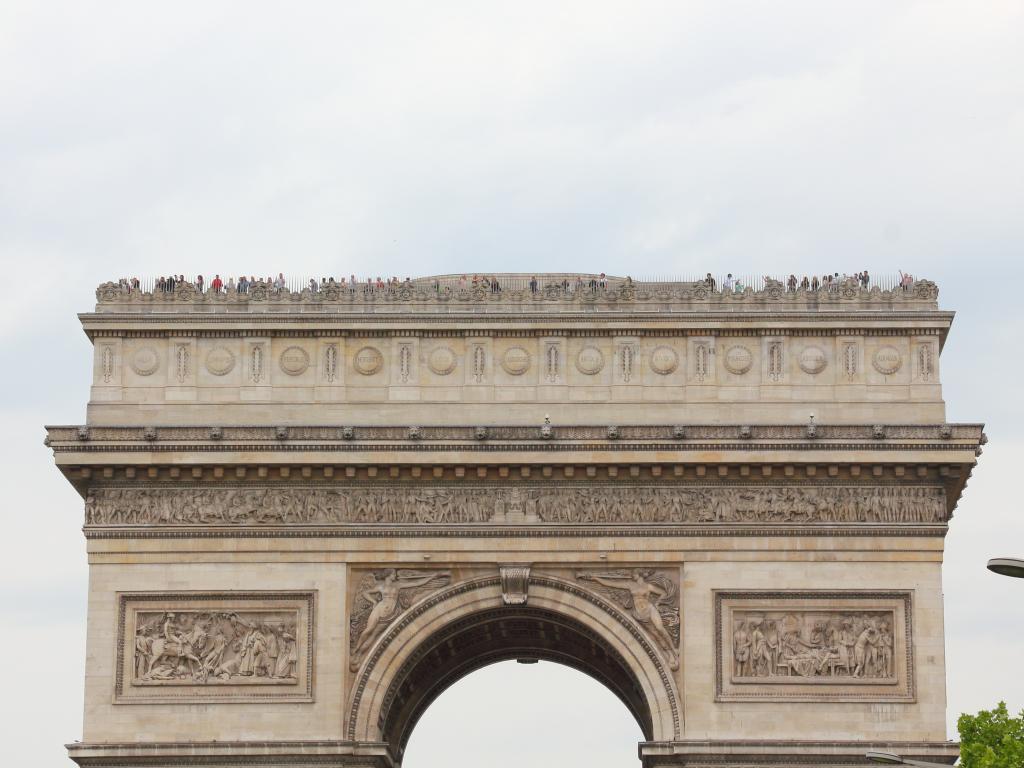 Arc de Triomphe Observation Deck