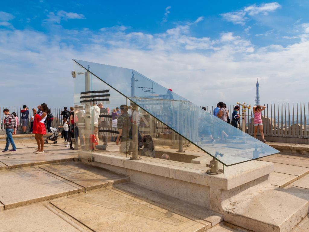 Aussichtsplattform Arc de Triomphe
