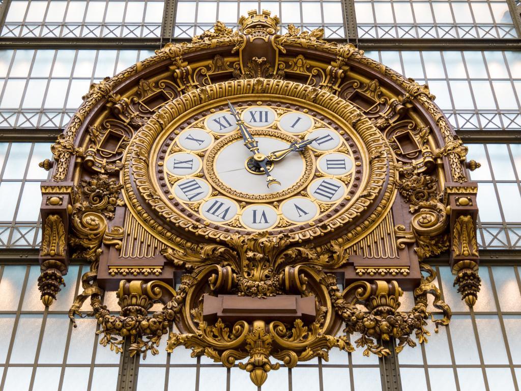 Die Bahnhofsuhr im Musée d'Orsay