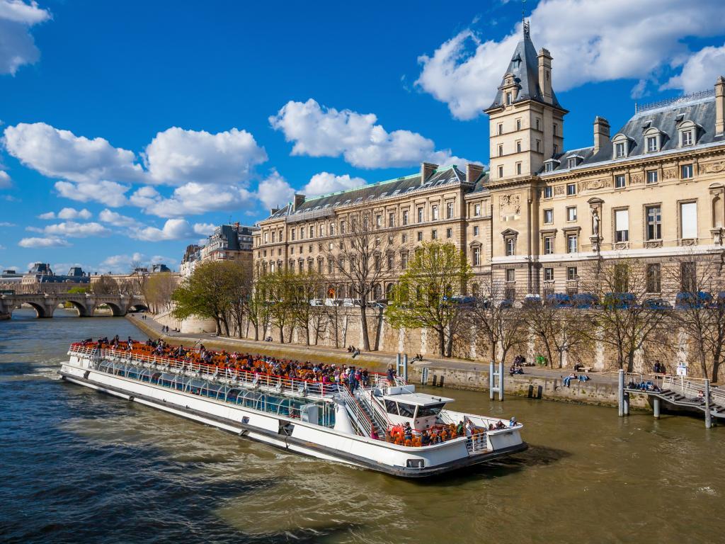 Eine Bootstour auf der Seine
