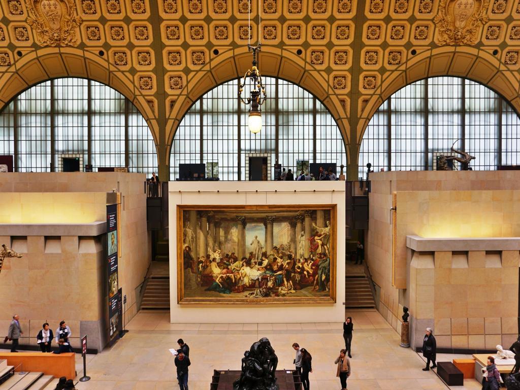 Das Musée d'Orsay in Paris