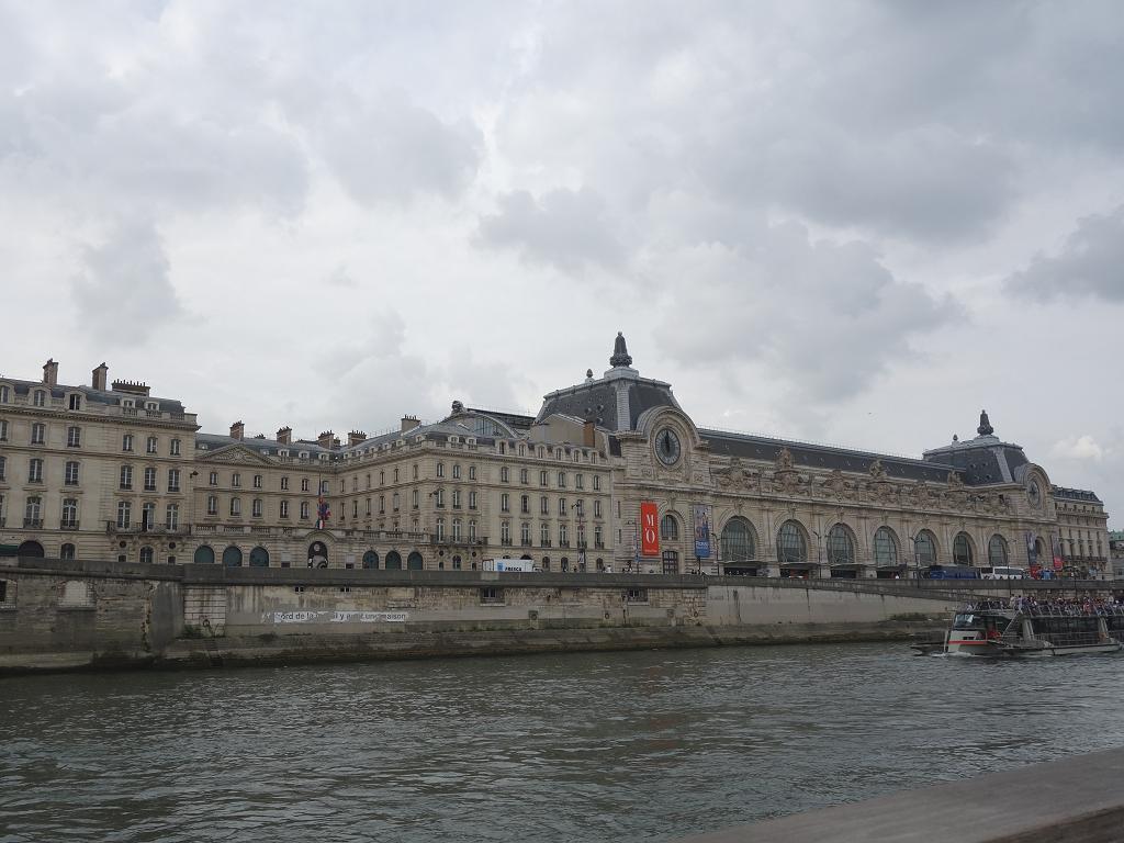 Der Blick zum Musée d'Orsay