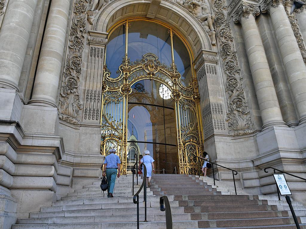 Der wunderschöne Eingang