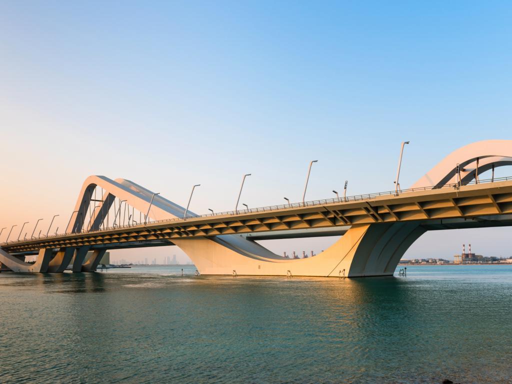 Die Brücke bei Tag
