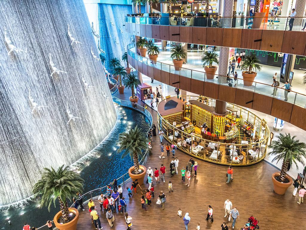 Dubai Mall Wasserfall