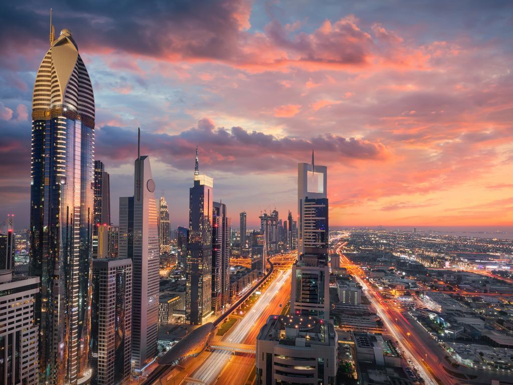 Was ist die Hauptstadt von Dubai