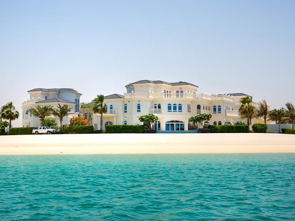 Eine Luxusvilla auf The Palm Jumeirah