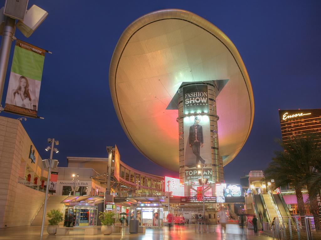 Die Mall am Abend