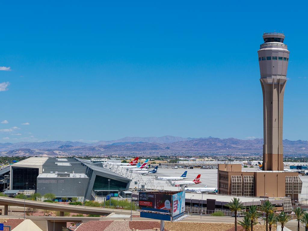 Flughafen Las Vegas