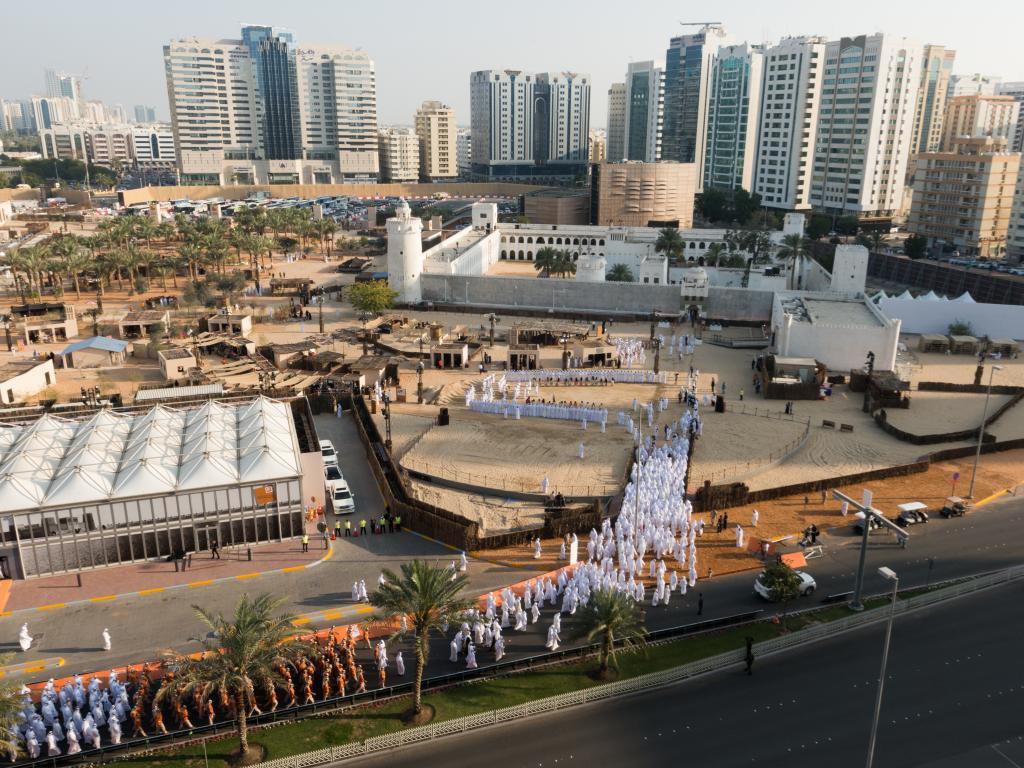 Das Fort Qasr Al Hosn