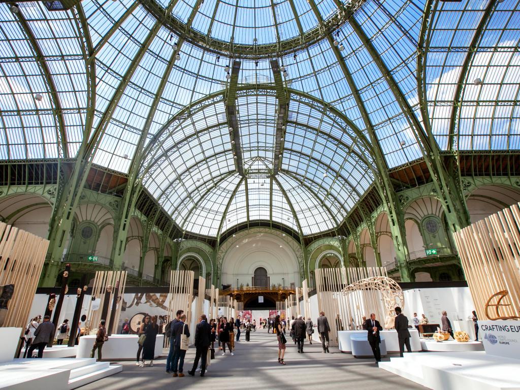 Die Glaskuppel vom Grand Palais in Paris
