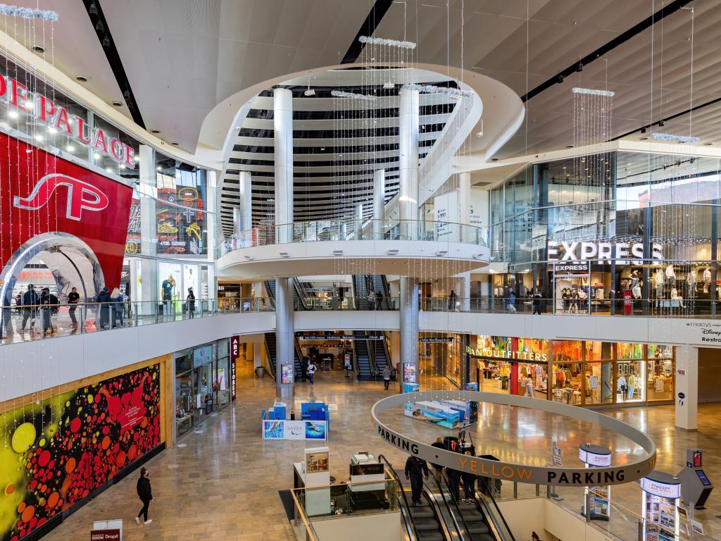 Innenbereich von der Mall