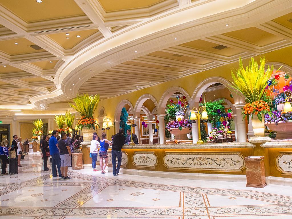 Lobby vom Bellagio Hotel
