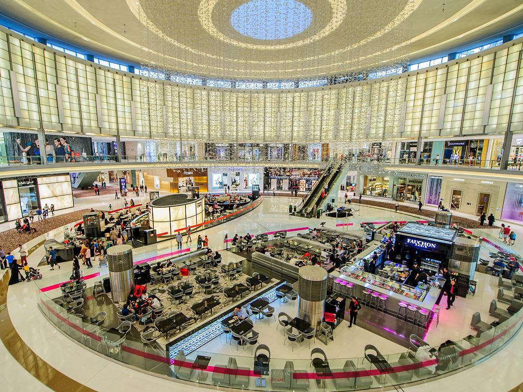 Luxus Shopping in der Dubai Mall