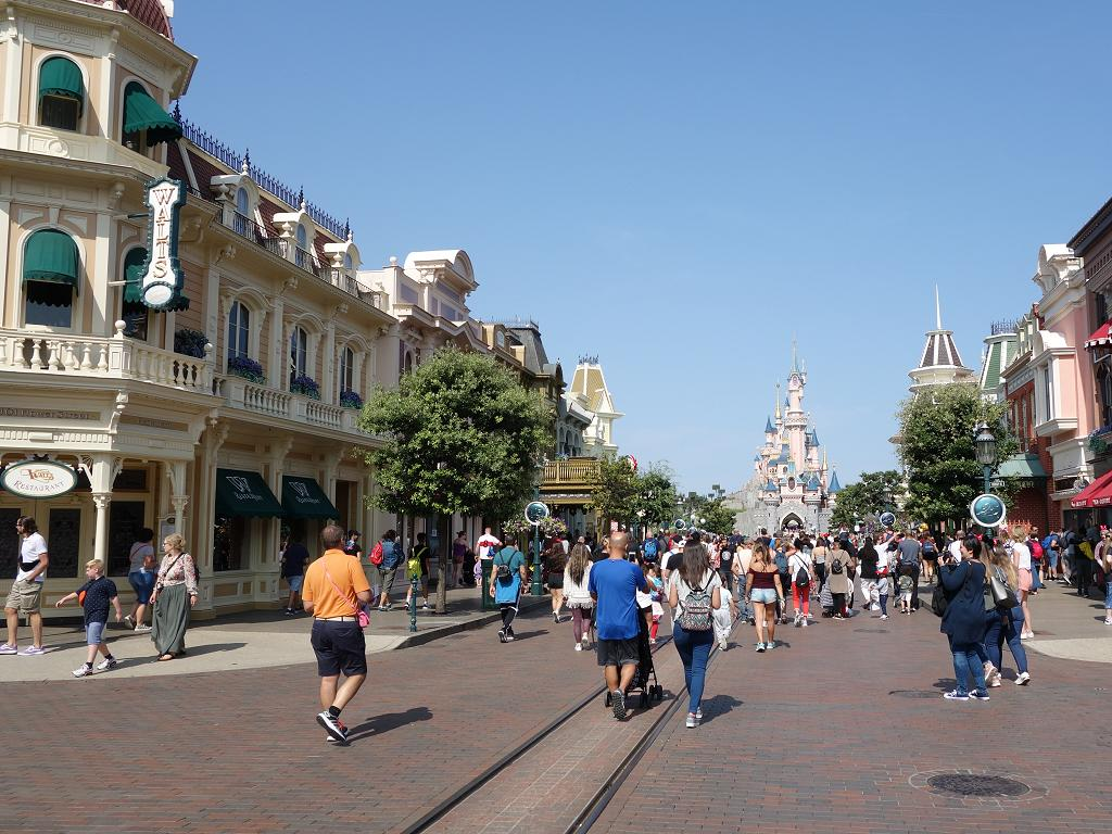 Die Main Street im Disneyland Paris