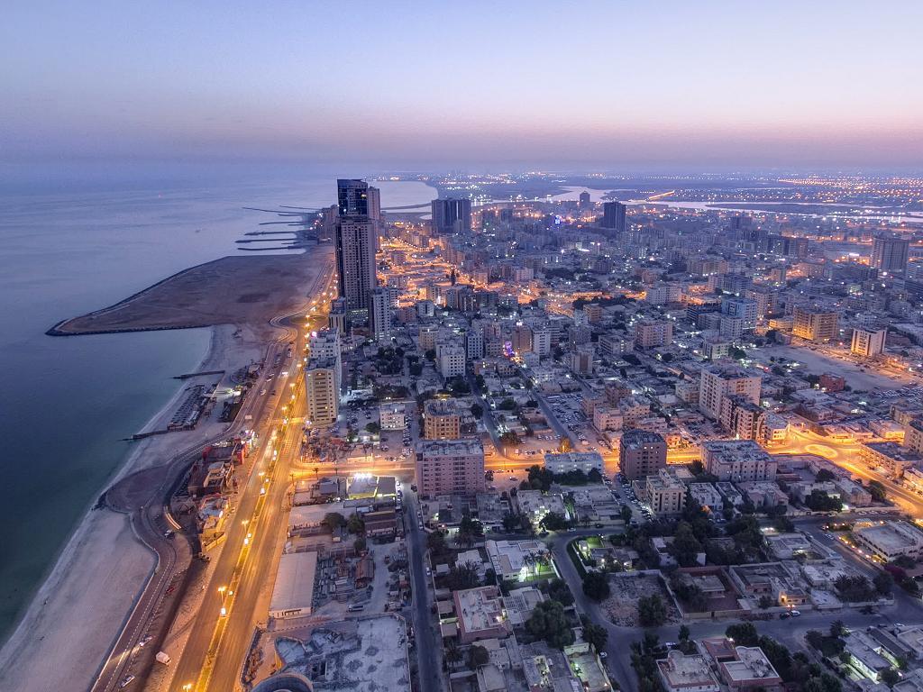 Panorama von Ajman
