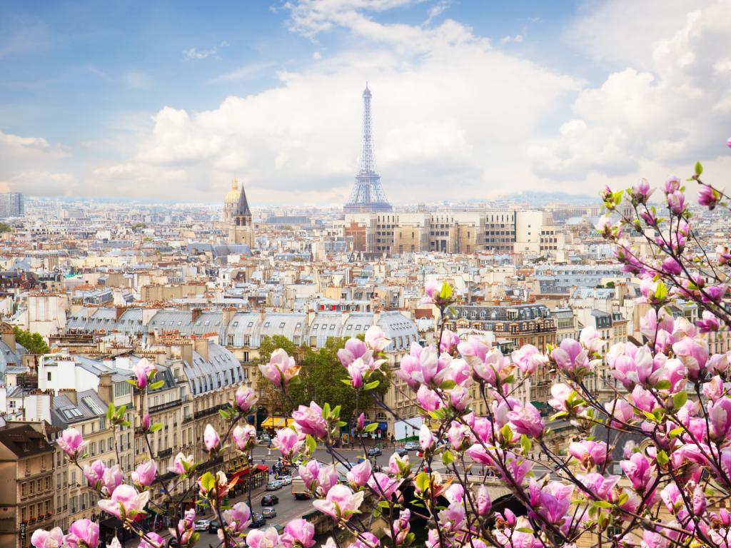 Wetter und Klima in Paris