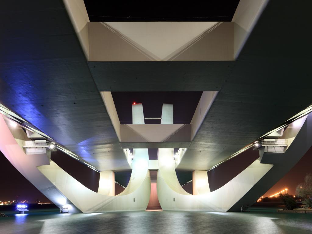 Sheikh Zayed Brücke